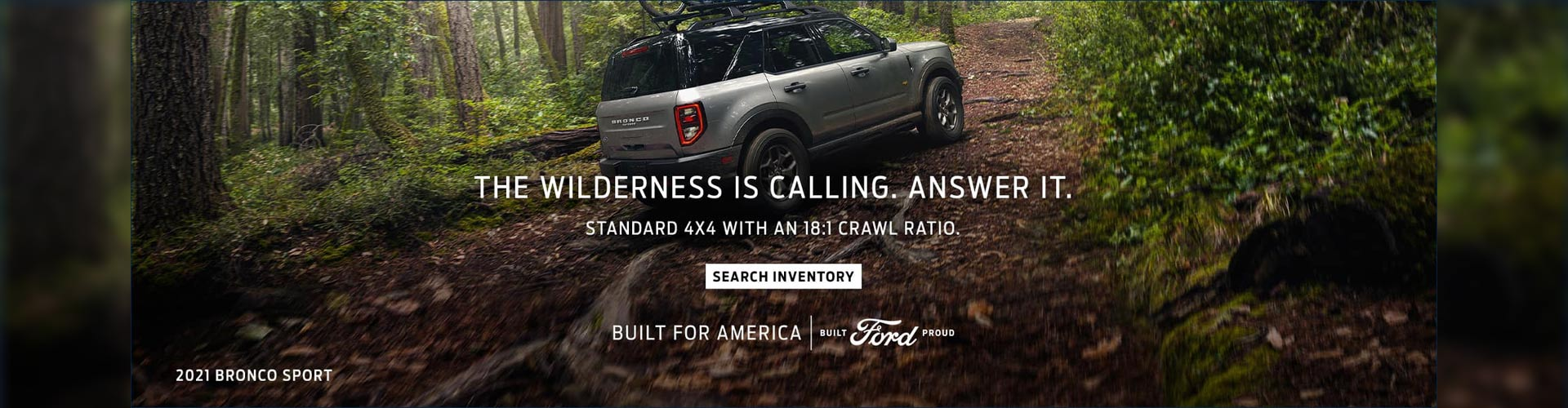 Wilderness is Calling - Ford